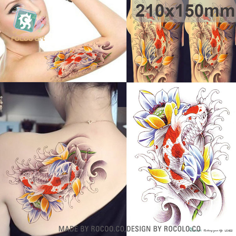 Popular Koi Fish Tattoos Buy Cheap Koi Fish Tattoos Lots