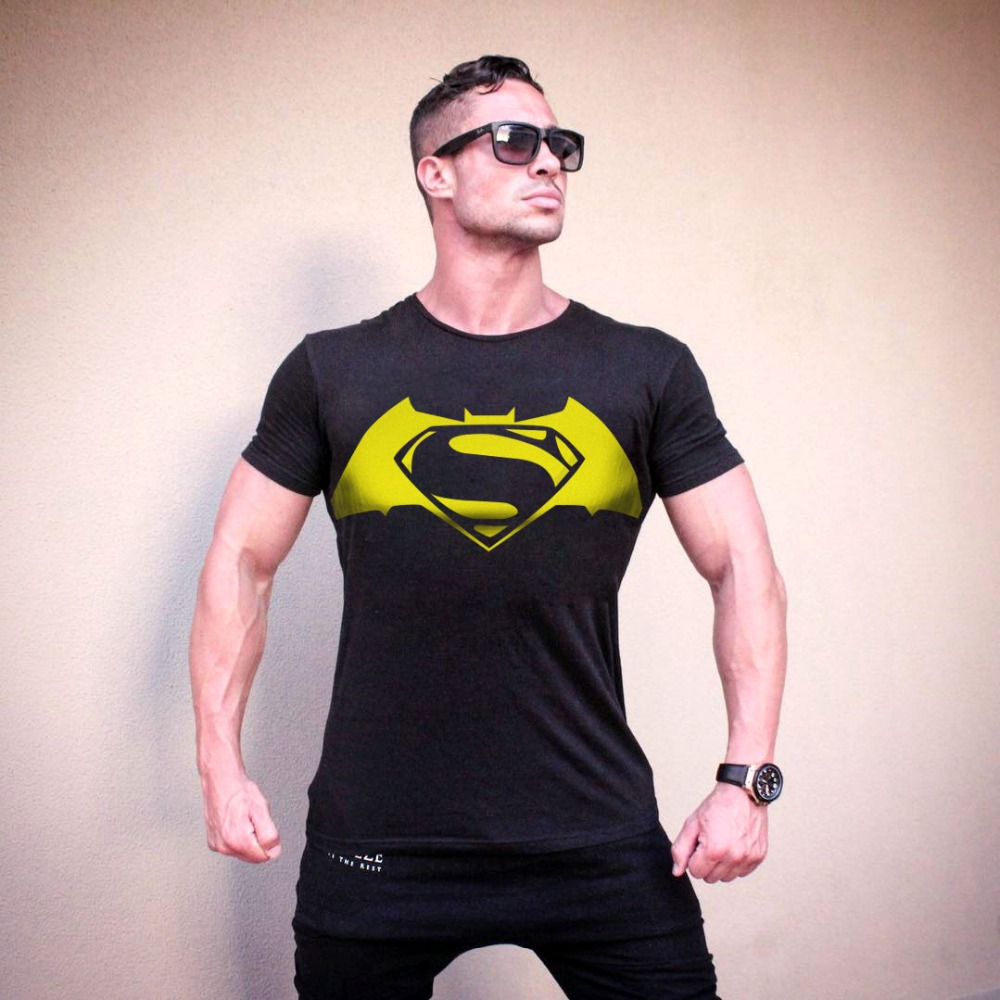 Brand clothing men bodybuilding t shirt fitness tee for T shirts for gym workout