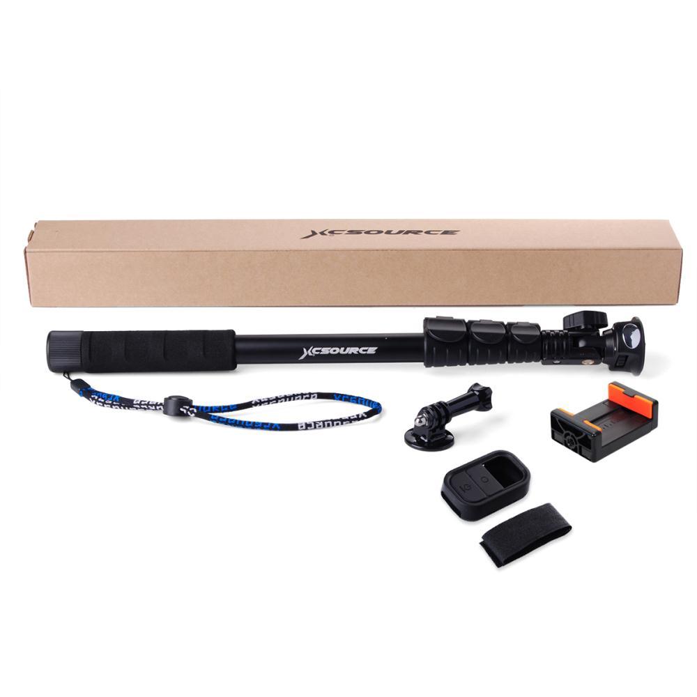 handheld monopod extendable selfie stick clip holder wifi remote case for. Black Bedroom Furniture Sets. Home Design Ideas