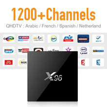 Buy X96 2GB & 1200 Arabic Sky Canal Travel IPTV Hot Channels Europe IPTV Tv Box Android Powerful S905X 4K Strong Wifi Tv Receiver for $106.99 in AliExpress store
