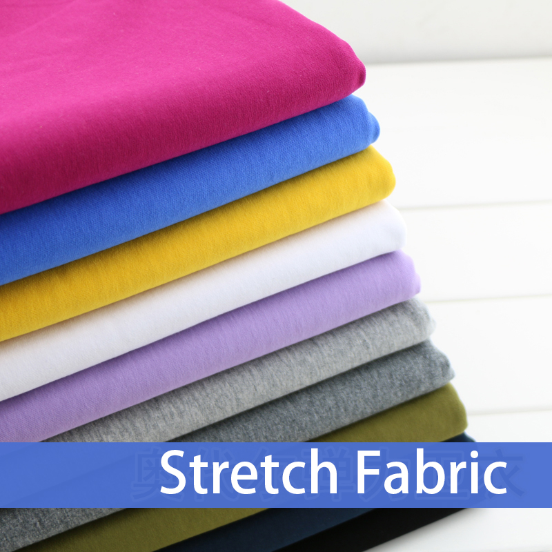 100* 185cm cotton knitted fabric thickened Lycra Cotton Terry sportswear fabric DIY clothing making fabric(China (Mainland))