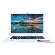 Quad Core Laptop Computer 4GB RAM & 128GB HDD 1.3MP Webcam Mini HDMI WIFI Windows 10 Notebook 14 Inch 1600*900 Screen