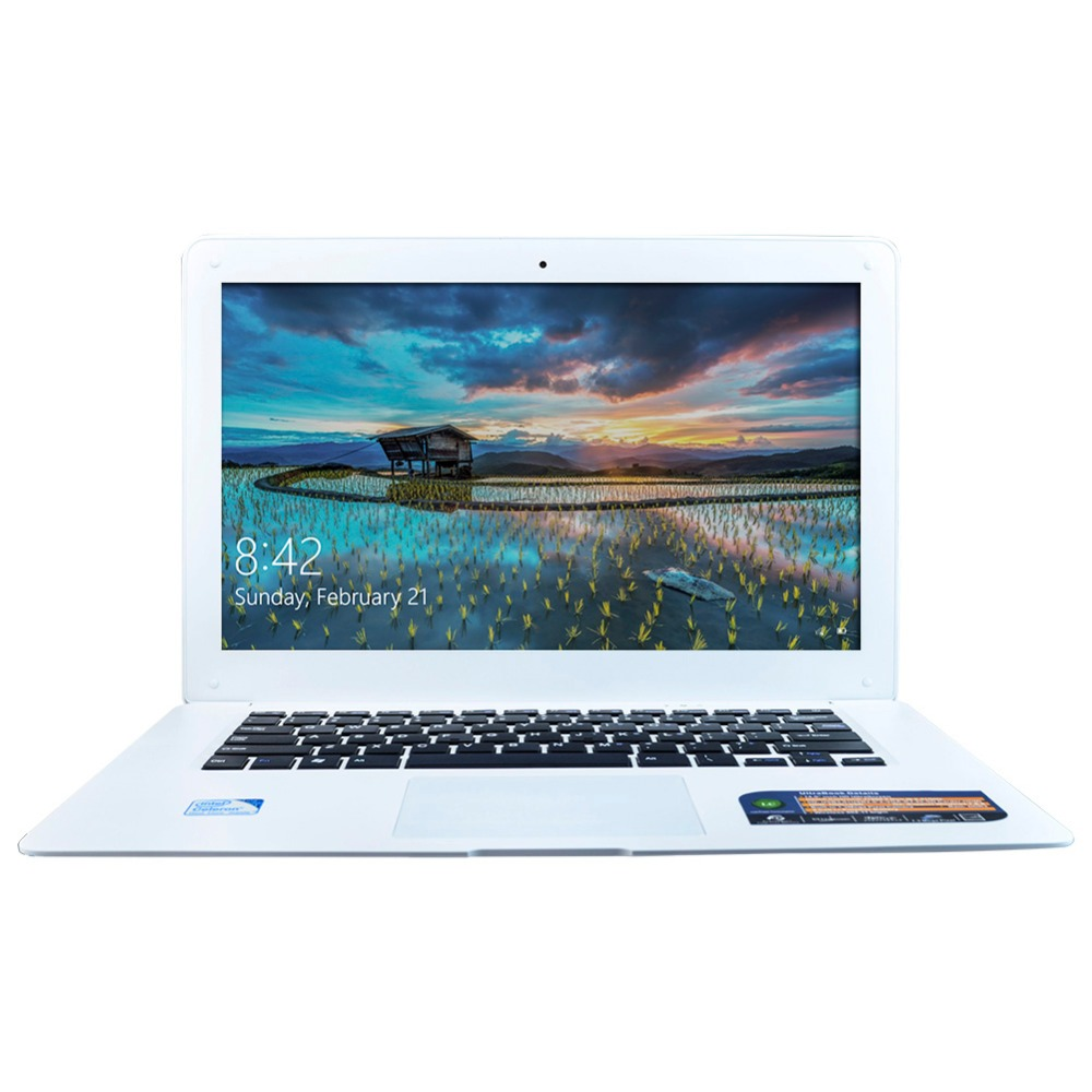 Quad Core Laptop Computer 4GB RAM & 128GB HDD 1.3MP Webcam Mini HDMI WIFI Windows 10 Notebook 14 Inch 1600*900 Screen(China (Mainland))