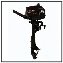 Cheap boat motors two stroke short shaft 4.8Hp outboard motor(China (Mainland))