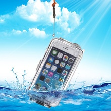 For iPhone 6 Plus Case IPX8 40m Professional Waterproof Housing Phone Cover Case for iPhone 6 Plus Shell