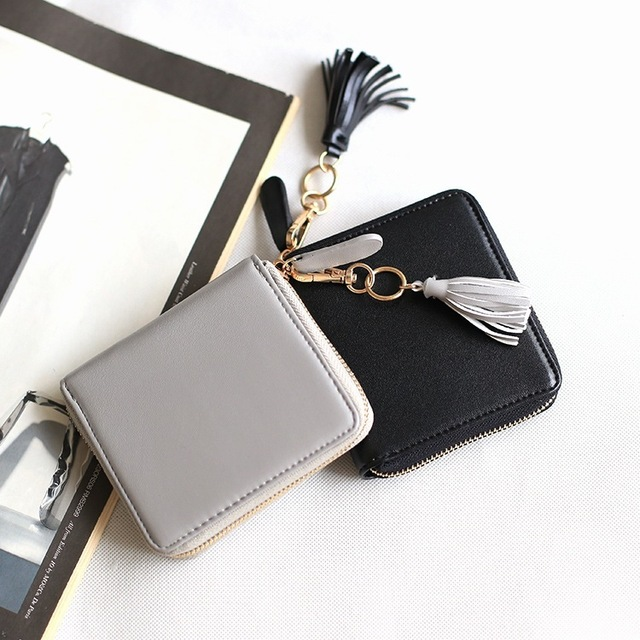 Бесплатная доставка новое поступление мода женщин мини-кошельки марка короткие бумажник ...