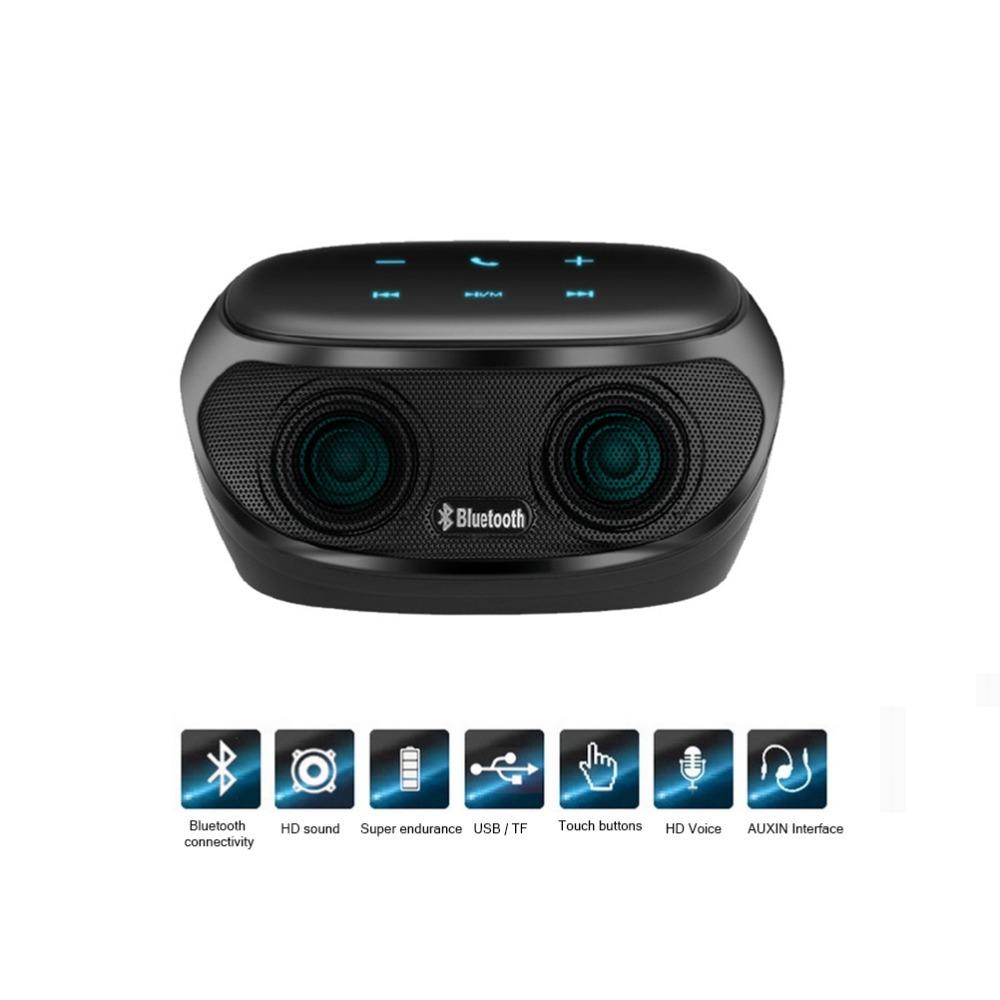 Touch Boombox HIFI FM Radio Mini Wireless altavoz Bluetooth Speaker USB Music Levitation Speakers Mp3 Player Sound Box SPK32 - Best Gadget store