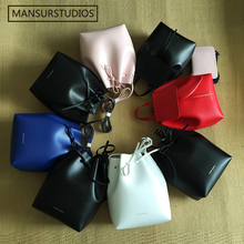 Newest Mansur Gavriel bucket bag women real leather hand bag lady leathe shoulder bag cross bag,free shipping(China (Mainland))