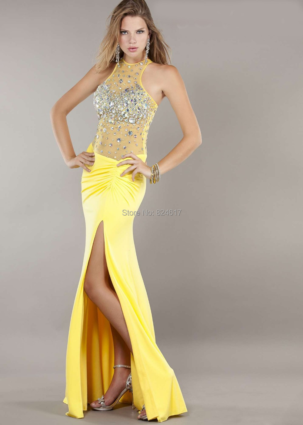 Wedding excellent semi formal yellow dress for Yellow dresses for weddings
