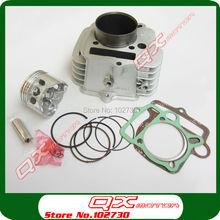 YinXiang YX140 Engine Cylinder with 56mm piston kit cylinder head gasket for Kayo Apollo Bosuer Xmotos 140cc Dirt Pit Bikes (China (Mainland))