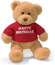 Toy heavly happy birthday Teddy Bear(China (Mainland))