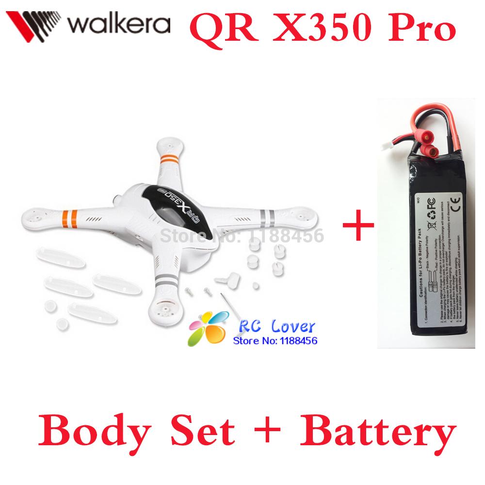 Original Walkera QR X350 Pro Body Set + Battery 11.1V 5200mAh Lipo battery Walkera qr x350 spare parts QR X350 PRO-Z-02<br><br>Aliexpress