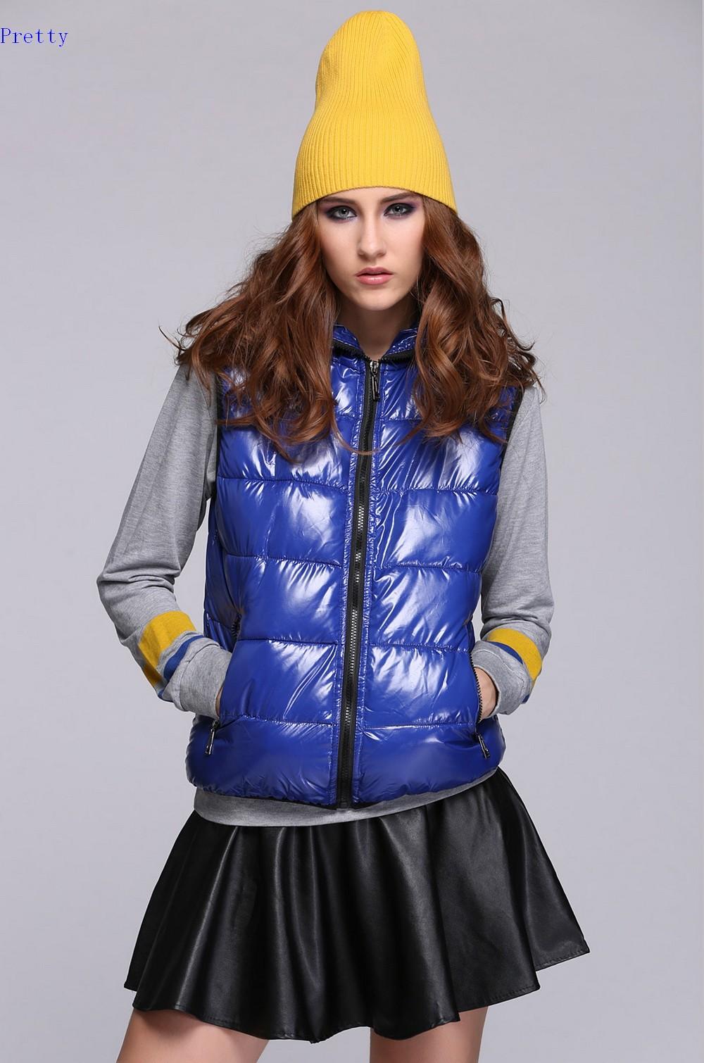 new 2014 spring Waterproof Women's casual vest Lady colorful waistcoat plus size XXXL sleeveless jacket fashoin 24(China (Mainland))