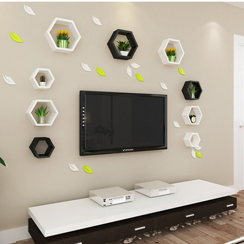 nid d 39 abeille tag res murales achetez des lots petit prix nid d 39 abeille tag res murales en. Black Bedroom Furniture Sets. Home Design Ideas
