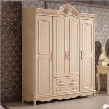 Four door wardrobe modern  European whole wardrobe French bedroom  furniture wardrobe pfy10176(China (Mainland))
