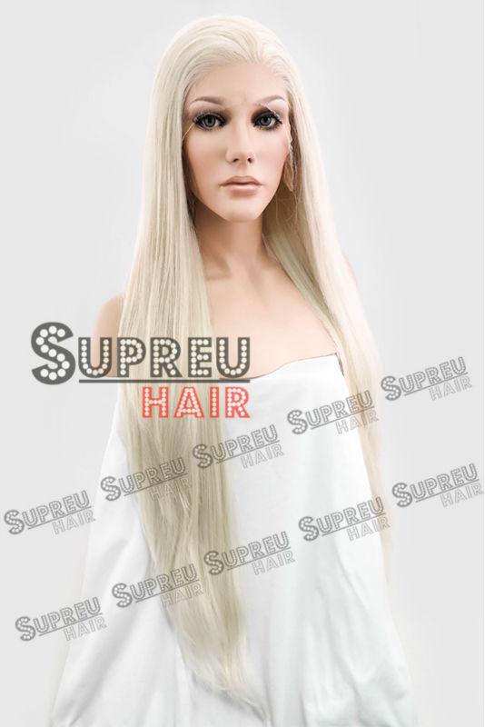 """Здесь можно купить  18""""-28"""" Long Wavy Pale Blonde Lace Front Wig Heat Resistant LW640D 18""""-28"""" Long Wavy Pale Blonde Lace Front Wig Heat Resistant LW640D Волосы и аксессуары"""