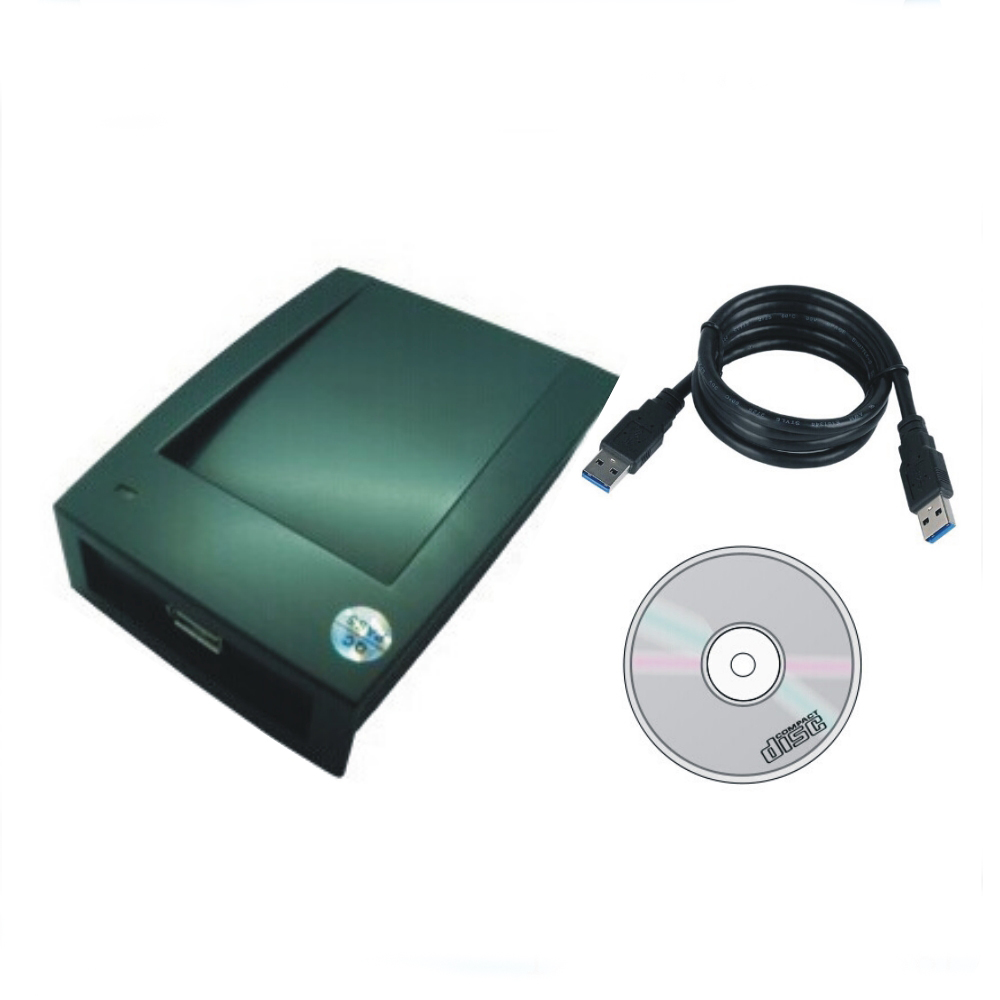 !China produces 125 KHZ T5577/T5557 read-write machine, USB port English version software+10p card - HeHeng-RFID store