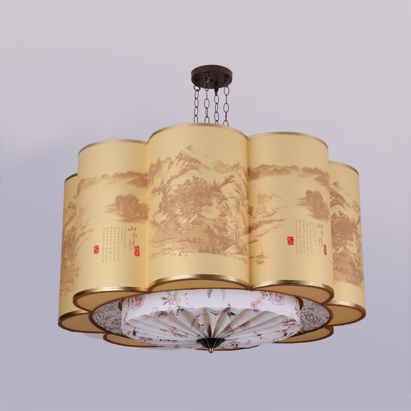 zhongshan woonkamer slaapkamer lampen kroonluchter verlichting moderne ...