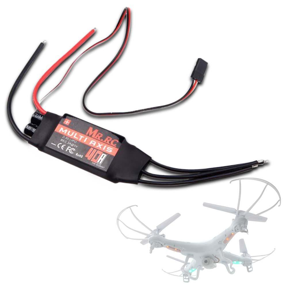 MR.RC 40A Brushless ESC Speed Controller For RC F450/F550 Multirotor Aircraft remote helicopter radio controlled A676(China (Mainland))