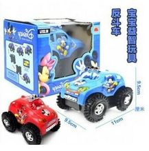 New best-selling children's toys electric car stunt Mickey Mickey CARS automatic rollover electric car #2