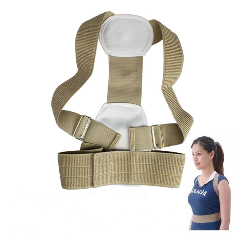 Adjustable Shoulder Support Belt Back Brace Posture Correction Belt for Children(China (Mainland))