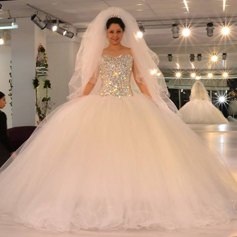Bridal Gowns With Rhinestones - Mother Of The Bride Dresses