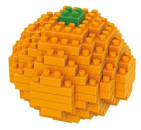Mini Building Blocks Model Fruits 6PCS/1SET PVC Kids Toys 3D DIY Model Plastic Brick Toys(China (Mainland))