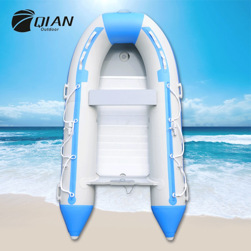 New Thickening 3/5 People 3 Separate Air Chamber Inflatable Boat PVC Hovercraft Air-cushion Vessel Rubber Boat High Quality(China (Mainland))