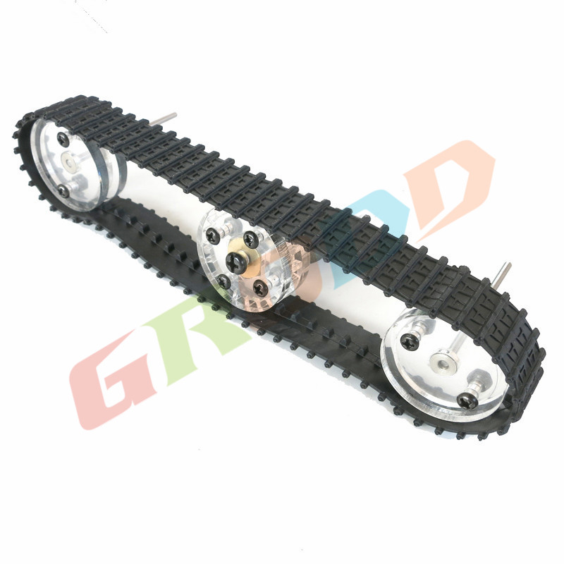 32mm combination track wheel wheels DIY model tank / tank track wheel model production Science and Technology / robot toy car(China (Mainland))