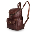 Nesitu Vintage Brown 100 Guarantee Real Genuine Leather Women Backpacks Cowhide Cute Girl Backpack M7303