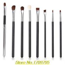 2015 New Arrival 8Pcs Makeup Brushes Tool Powder Foundation Eyeshadow Eyeliner Lip Brush Kit Set 4DY2
