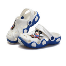 2016 Summer Girls Boys Beach Sandals Kids Children Shoes For Girls Boys Non-Slip Sandals Infant Kids Children Shoes Wholeas MBF2(China (Mainland))