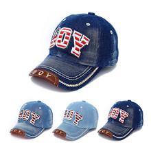 2015 High Quality Kids Fashion Caps Children Boys Girls Casual Cotton Letter Baseball Caps Adjustable Hip Hop Snapback Sun Caps(China (Mainland))