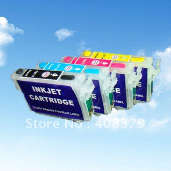 Refillable cartridge for Epson CX7400 (T0691-T0694)