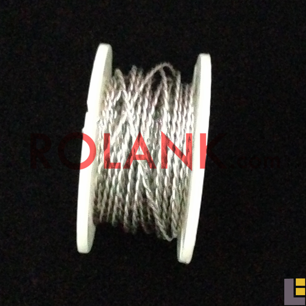 24 gauge twist pair resistance coil clapton wire for DIY 5 meters each pcs(China (Mainland))