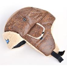 Bomber Шляпы  от The big watermelon hat store для Мужская, материал Искусственная кожа артикул 32218697659