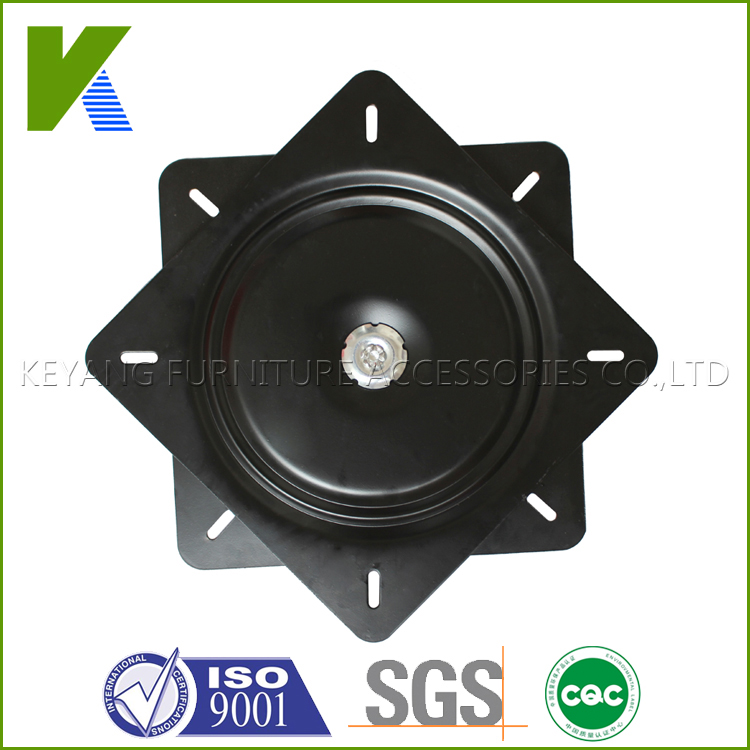 13 Inches 330*330mm Double Kinds Metal Swivel Plate Rotate Mechanism For Table,TV Stand,Chair KYF010(China (Mainland))