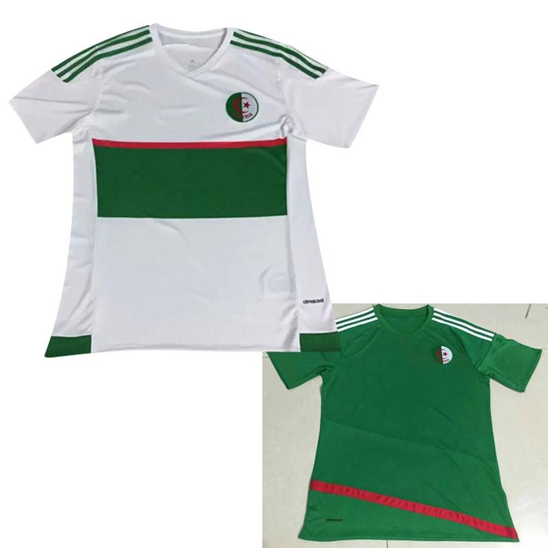 NEW! Top Thai quality 2016 2017 algerienne ALGERIE soccer jerseys 16 17 Algeria SHIRTS football shirts have survetement football(China (Mainland))
