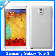Original Samsung Galaxy Note 3 N9005 Unlocked Mobile Phone Quad Core 3GB RAM 5.7 Inches 13MP WiFi GPS Refurbished Andriod Phone
