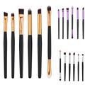 6pcs Professional Makeup Cosmetic Brushes Eyeshadow Eye Shadow Foundation Blending contour multiple mediums brush kits