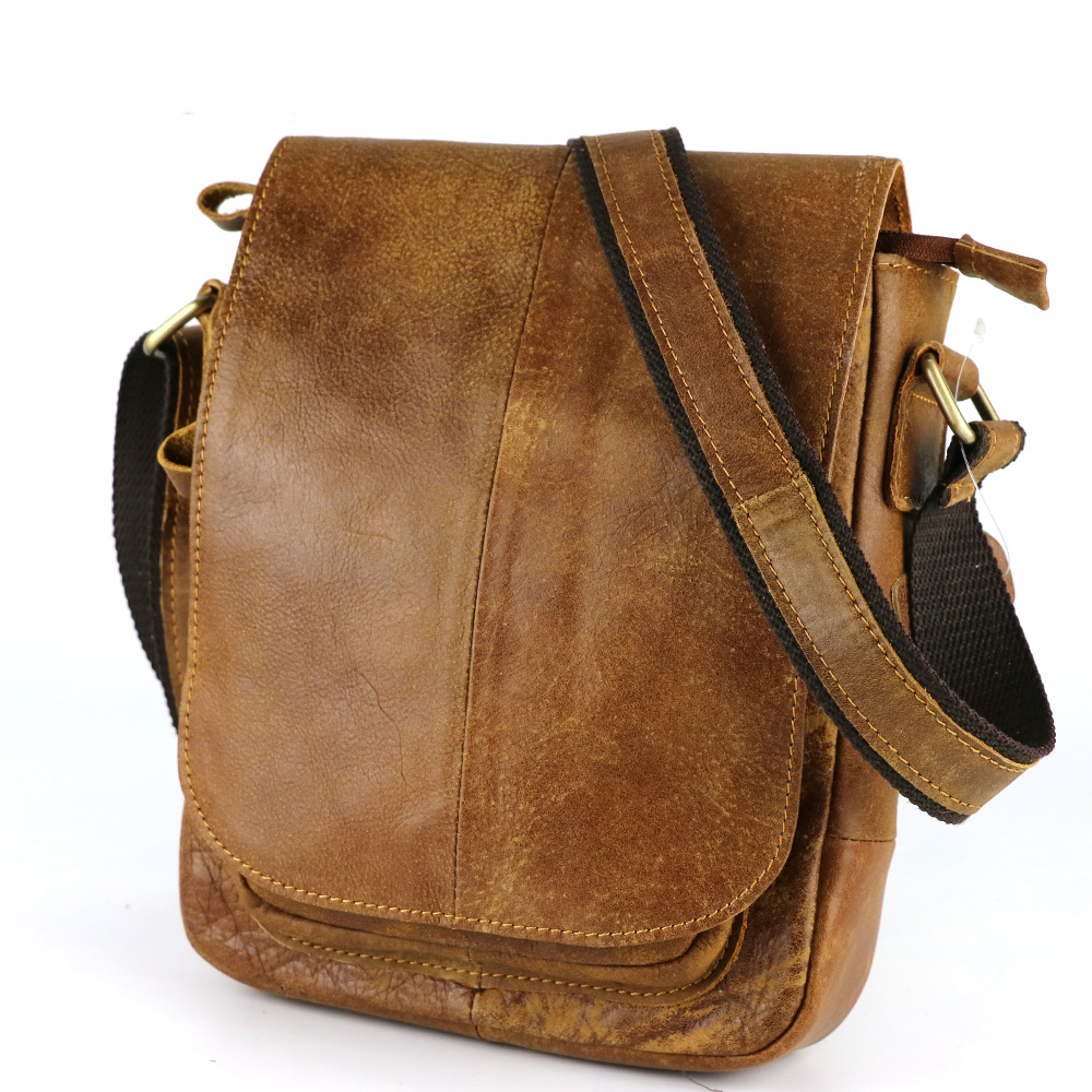 Hot Sale Genuine Leather Messenger Bags for Men Outdoor Casual Crossbody Bags Small Cross Body Bolsa Man Business Sling Bag<br><br>Aliexpress