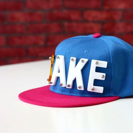 Acrylic letter ake hiphop hat female candy color hip-hop cap baseball cap male