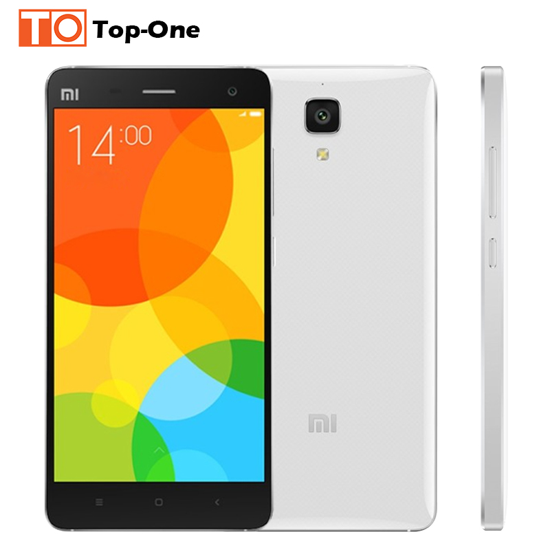 Original Xiaomi Mi4 M4 Mi4i 16GB WCDMA FDD LTE Mobile Phone OS Snapdragon 801 quad core 2.5GHz Screen1920*1080P Camera 13MP(China (Mainland))