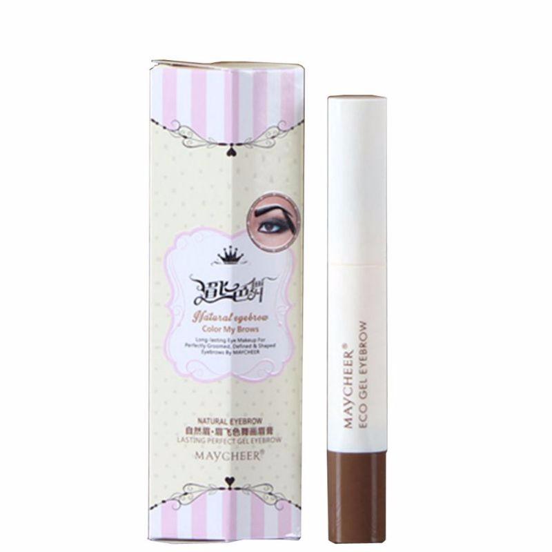 Não Sombreamento de Threading Sobrancelha Creme 1 pcs Natural lápis de Sobrancelha Perfeita Gel de Longa Duração Sexy Girl Maquiagem Profissional
