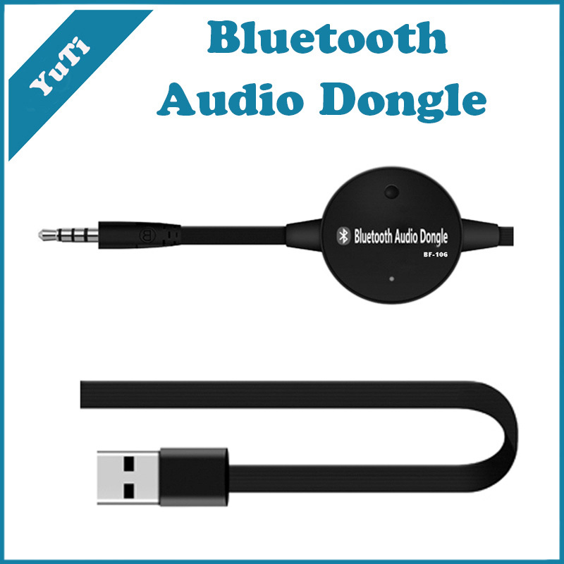 3.5mm Stereo Audio Bluetooth Transmitter Portable Music Transmitter for TV Computer Wireless Transmission Dongle With FM Car Kit(China (Mainland))