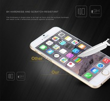 5000pcs for iphone 6 6s 0.3mm Premium explosion proof Tempered Glass Screen Protector for iPhone 6 4.7inch protective guard film
