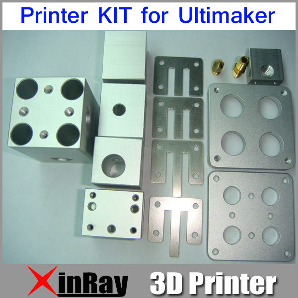 Free shipping 3D Printer Metal Kit for Ultimaker 14 Parts Whole Include 3D Printer Component Accessories