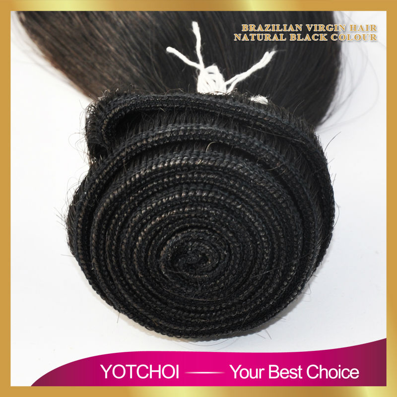 Yotchoi 7A Unprocessed Brazilian Virgin Hair 5 Bundles Human Virgin Hair Weave Extension Brazilian Hair Body Wave Weft Top Grade