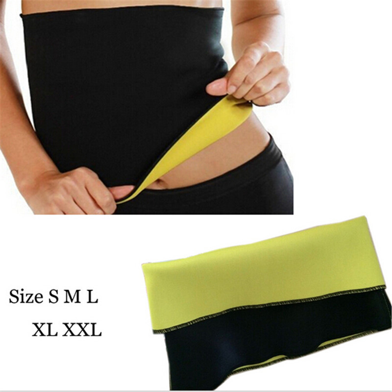 1PCS High Quality Hot Woman Tummy Trimmer Slimming Belt Waist Trimmer Fitness Belt Fat Burning Fitness Corset Body Shaper Wear