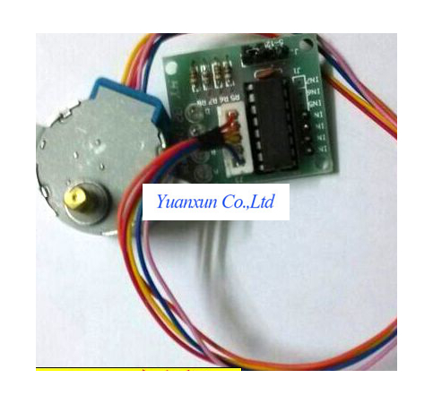 5v 4 Phase 5 Wire Stepper Motor And The Drive Circuit